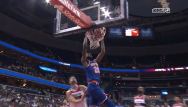 Knicks Rookie Highlights at WAS