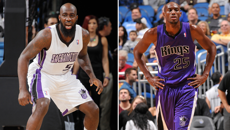 Quincy Acy and Travis Outlaw