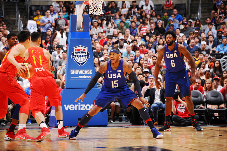 China v United States - USA Basketball Showcase