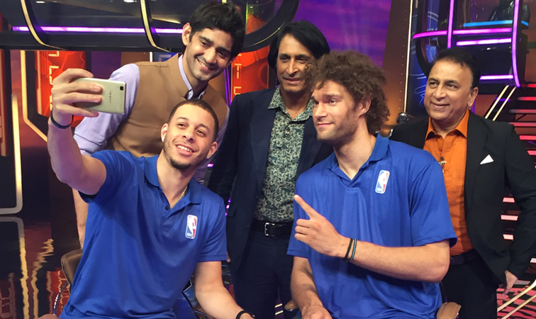 Robin Lopez Visits India: TV Appearances and NBA Elite Camp