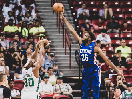 Knicks 2018 Summer League vs. Celtics