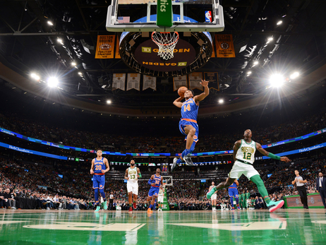 Knicks on the Court: Dec 6 @ Celtics