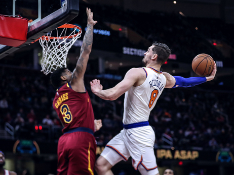 Knicks on the Court: Feb 11 @ Cavaliers
