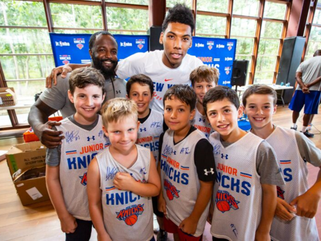 2018 Junior Knicks Summer Camp: Session 12 (8/29 - 8/31)