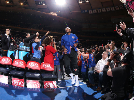 Gallery: Knicks Defeat Pistons at The Garden (3/27)