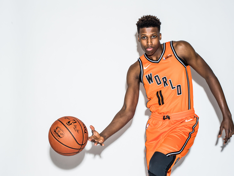 2018 NBA All-Star Weekend: Frank's Rising Stars Photo Shoot
