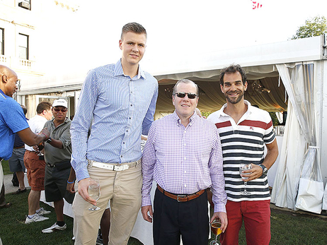 Gallery: Knicks Represent at Chase-MSG Golf Outing