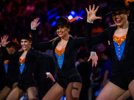 Photos: Knicks City Dancers Perform on Feb 26 vs. Warriors
