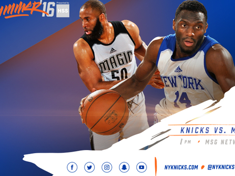 Knicks Seek Back-to-Back Wins on Wednesday against Orlando White