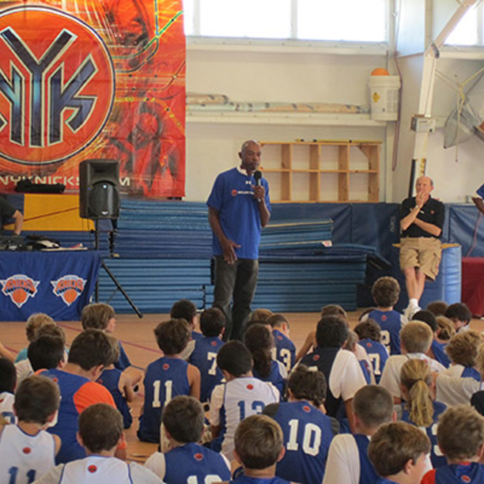 Photo Gallery: Knicks 2010 Summer Camp, Hayground School, 8/30 - 9/1