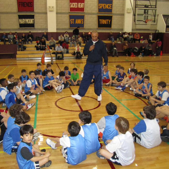 Knicks FastBreak Clinic feat. John Starks