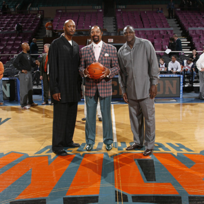Knicks Alumni Return