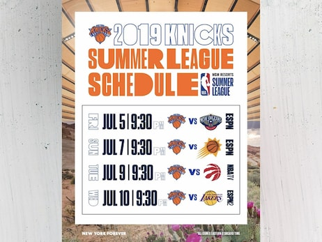 2019 Knicks Summer League Matchups