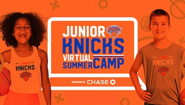 Now Streaming: Five Full Weeks of At-Home Training with Knicks Players & Alumni