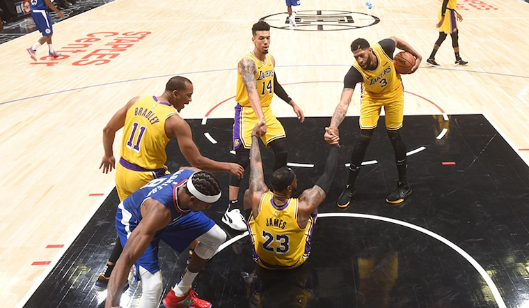 Lakers See Considerable Room for Improvement