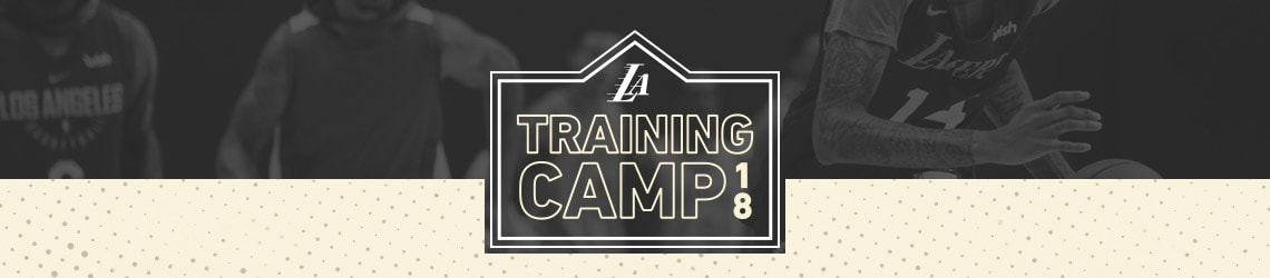 Lakers Training Camp Central