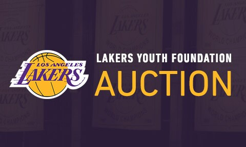 Lakers Youth Foundation Auction
