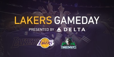 Lakers Gameday Presented By Delta