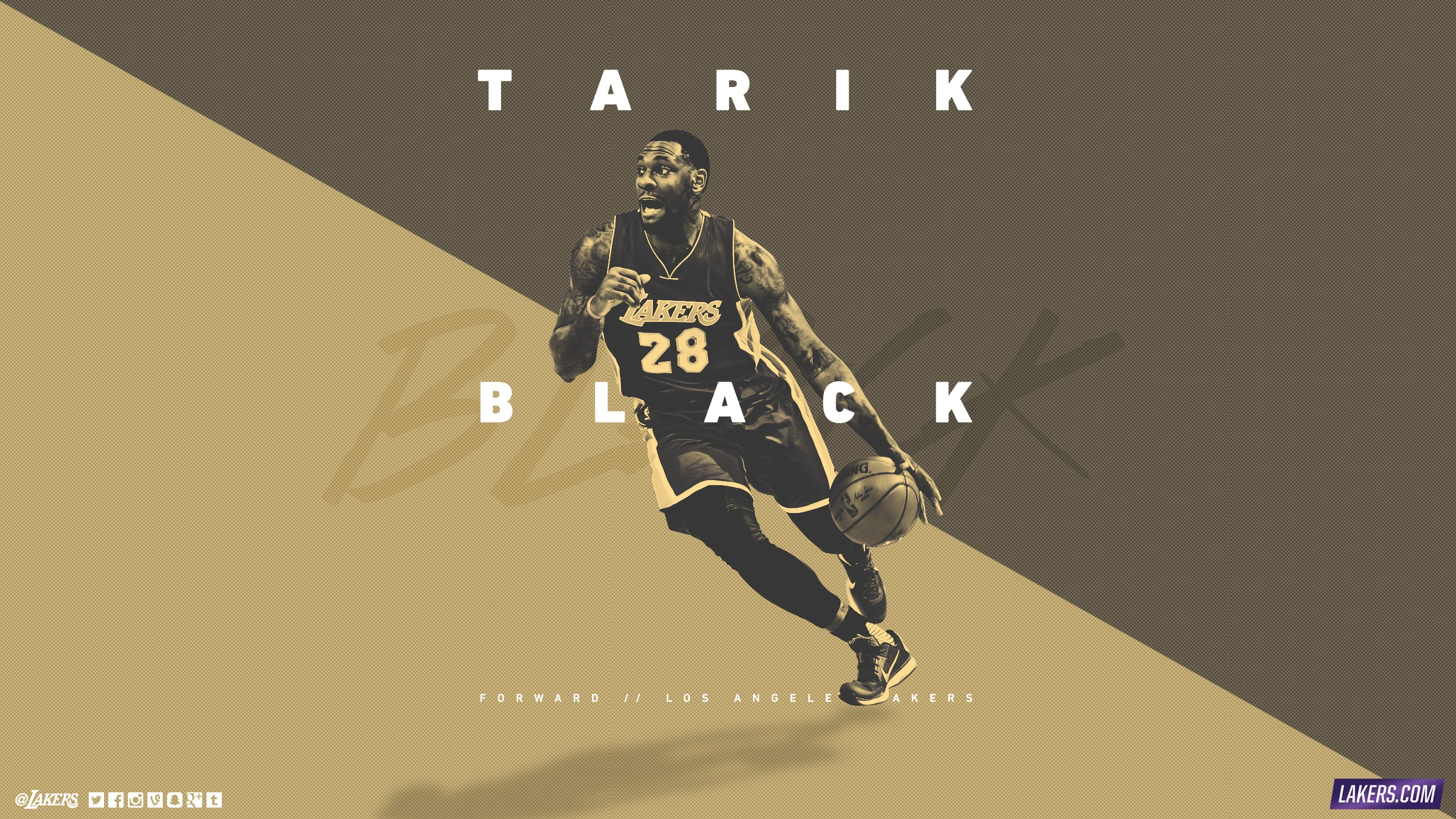 Tarik Black Player Wallpaper