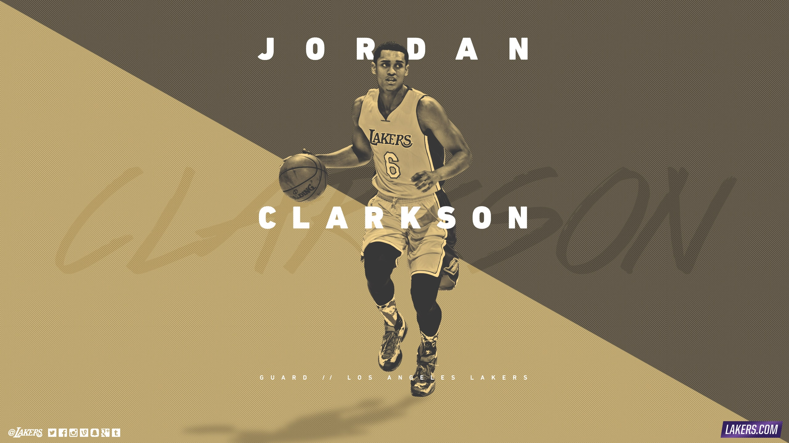 Jordan Clarkson Player Wallpaper