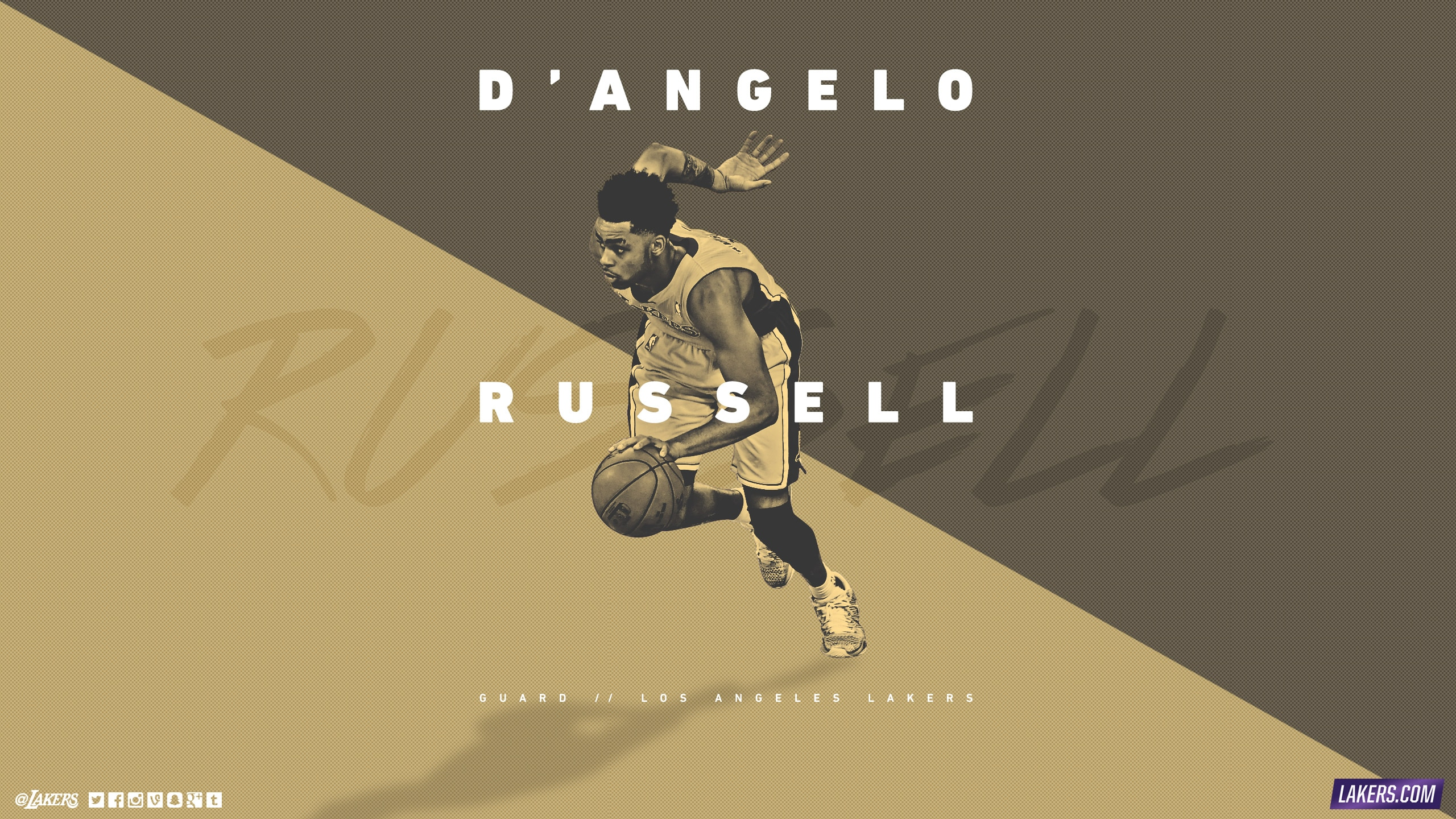D'Angelo Russell Player Wallpaper