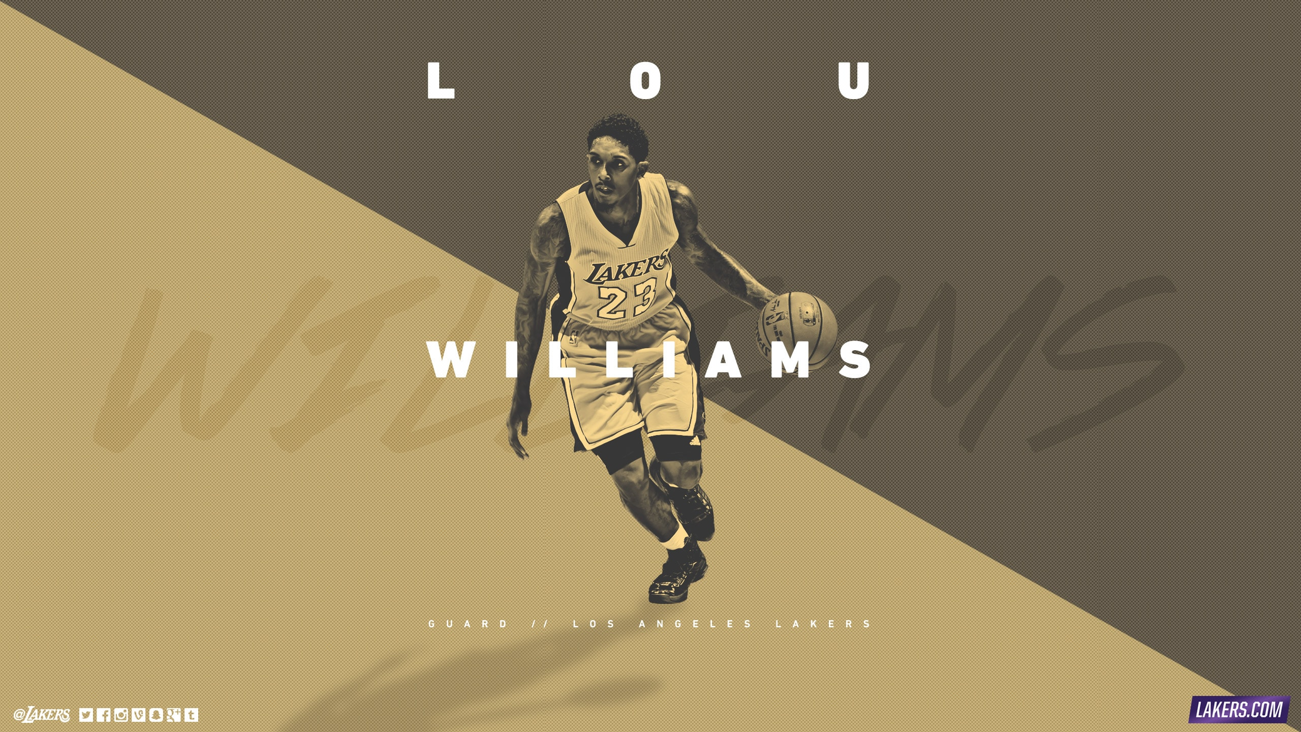 Lou Williams Player Wallpaper
