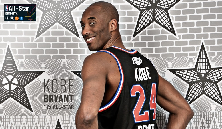 Kobe Bryant Named Western Conference Starter for All-Star New York | Los  Angeles Lakers