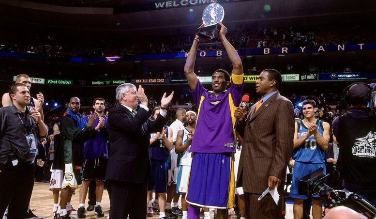 A Year After Defeating The 76ers In NBA Finals Kobe Bryant Was Booed With Gusto His Hometown Of Philadelphia For 2002 All Star Game