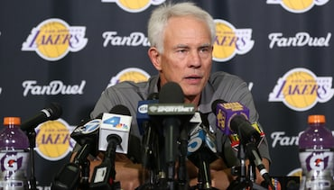 Kupchak Discusses Hiring of Luke Walton