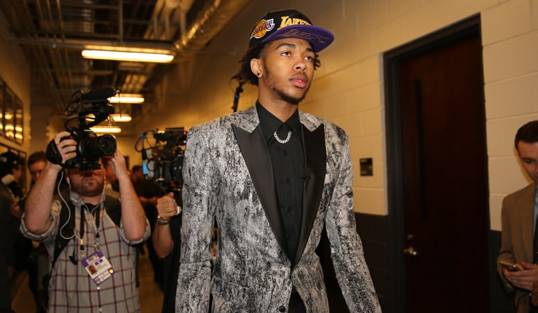 Ingram Reacts to Lakers Selection