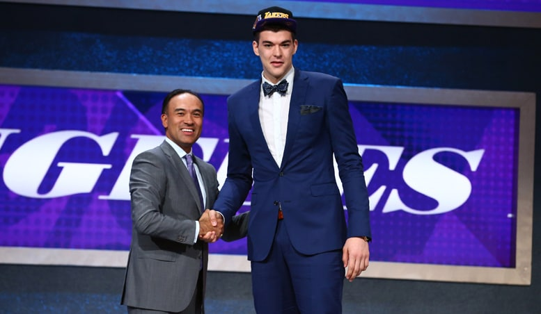 Zubac 'So Happy' to Join Lakers