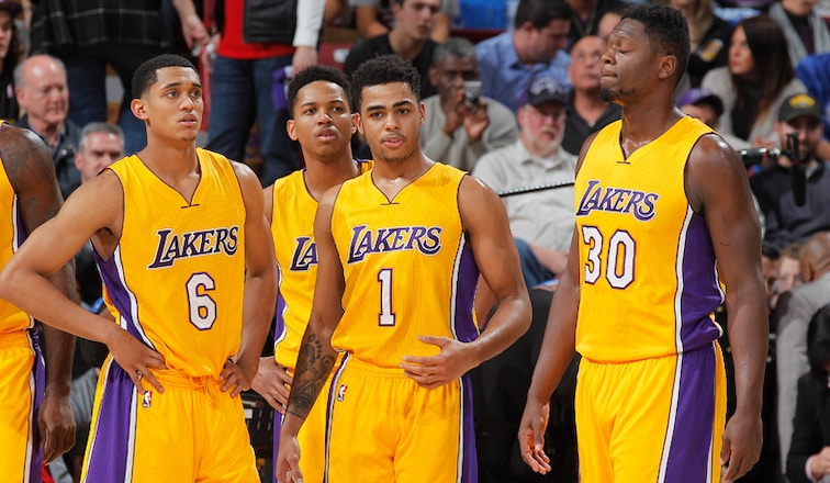 Meet The Lakers Training Camp Roster Los Angeles Lakers