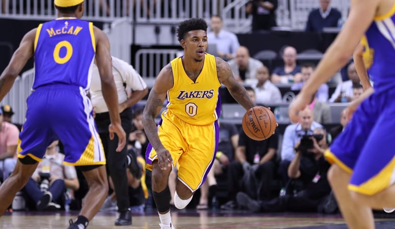 Lakers Can't Catch Warriors After Slow Start