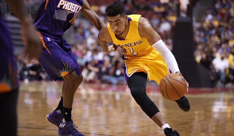 Lakers Finish Preseason With Close Loss to Suns