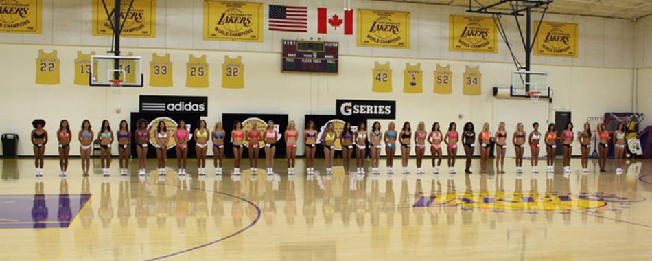 Laker Girls December & January In-Game Gallery