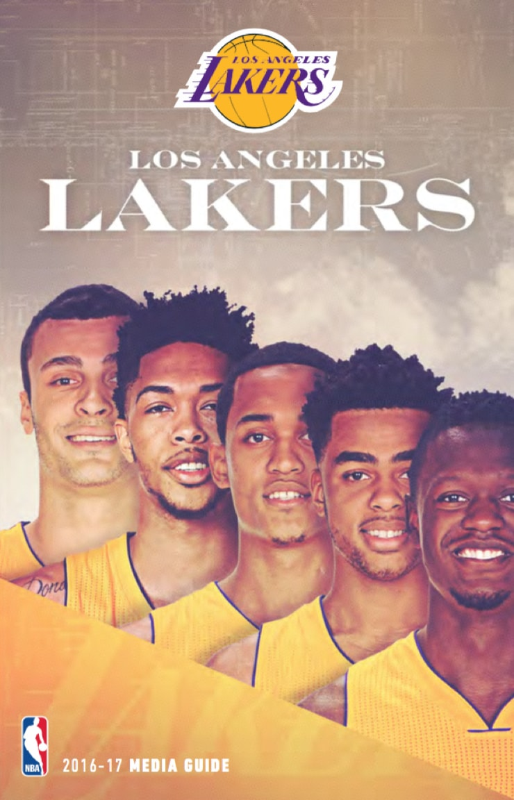 2016-2017 Lakers Media Guide