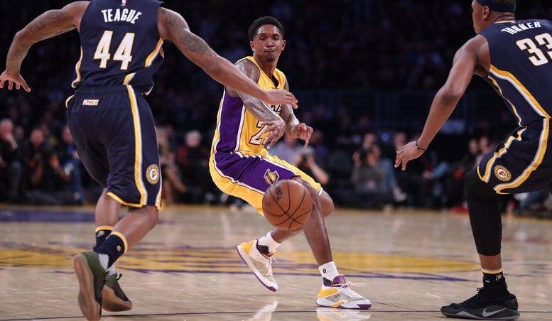 nba.com - Running Diary: Lakers vs. Pacers (1/20/17) | Los Angeles Lakers
