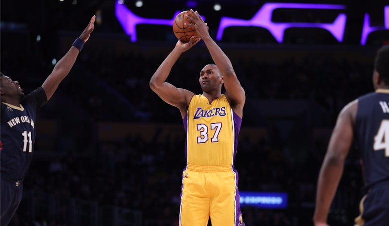 World Peace Shines Through In Home Finale