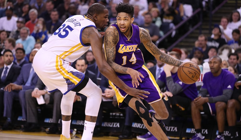 Lakers Topped By Warriors In Season Finale