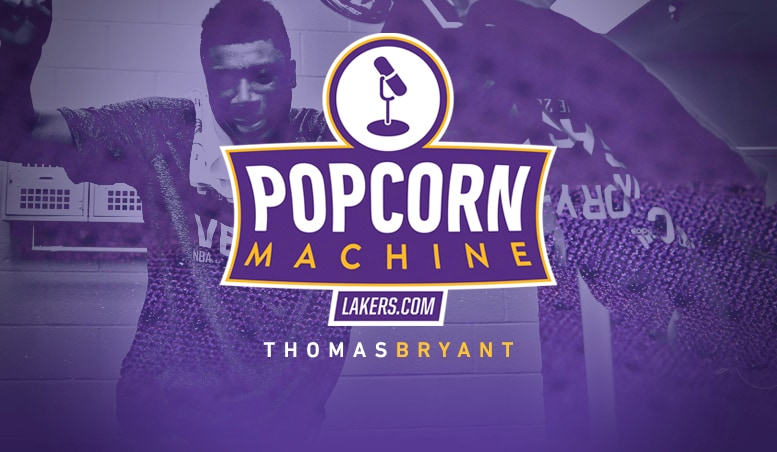 Popcorn Machine: Special Guest Thomas Bryant