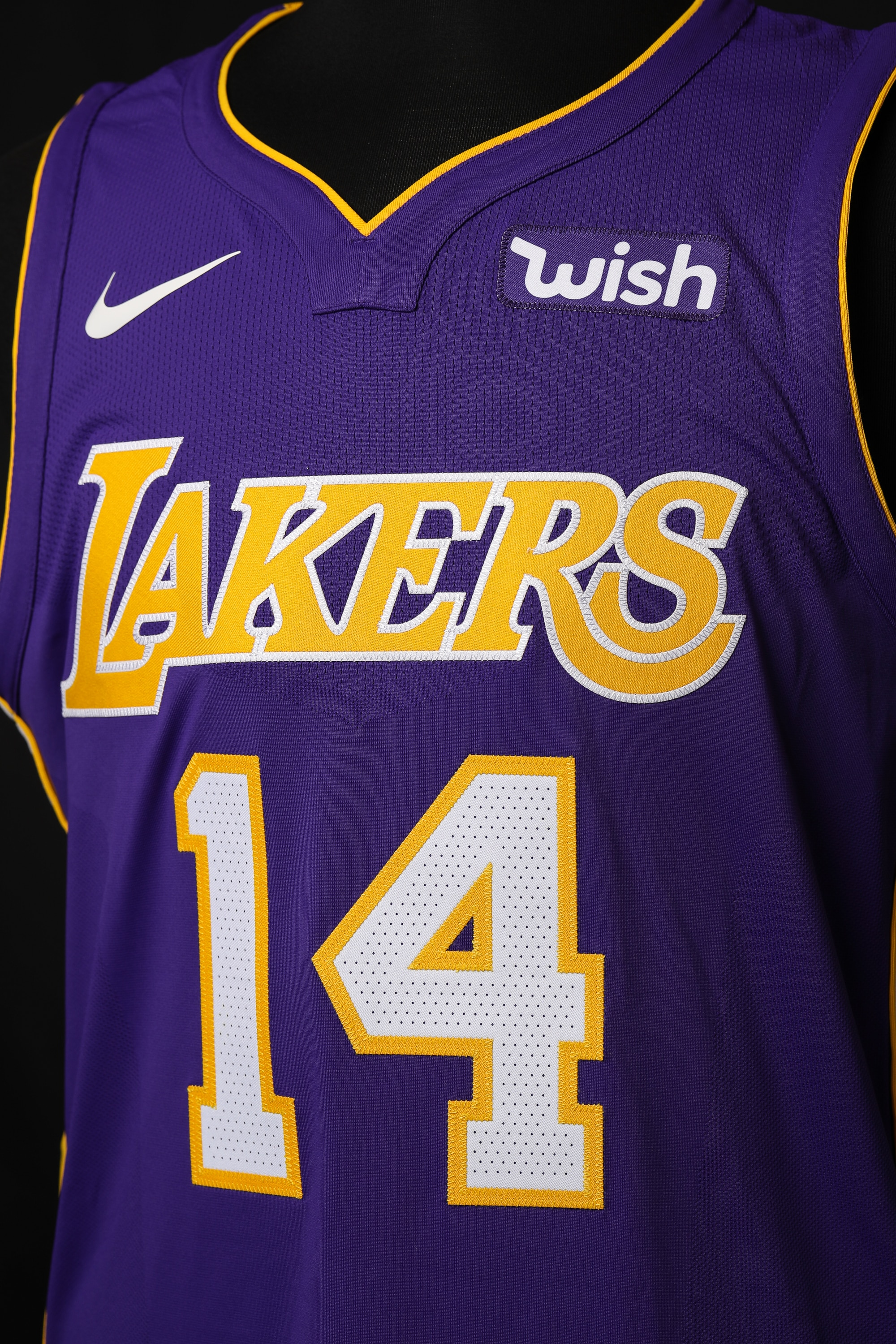 99a40226628 The Lakers Statement jersey ((Ty Nowell/Los Angeles Lakers))