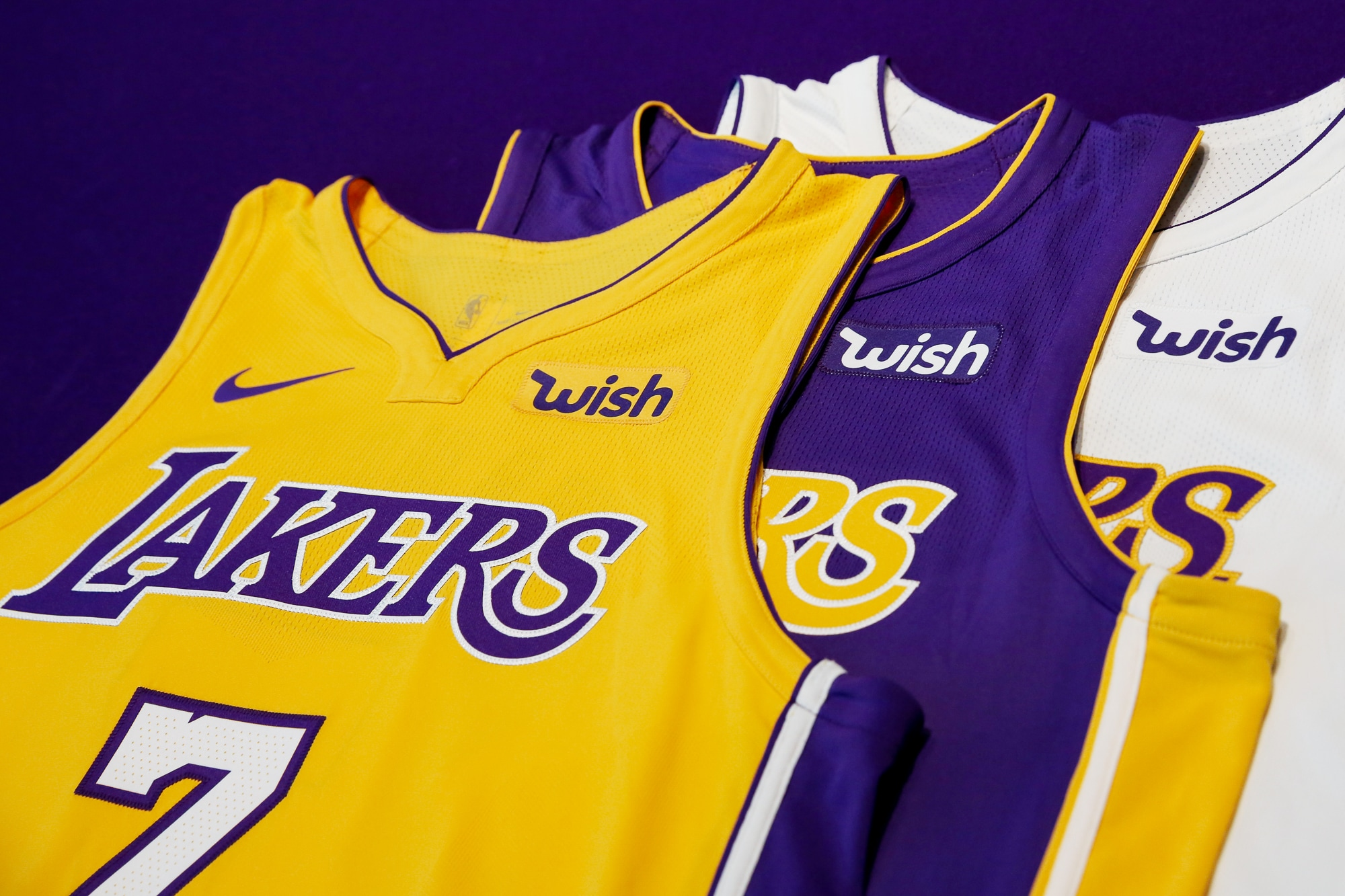 9ddceb82260 The Lakers Icon, Statement and Association jersey with an updated look. ((J