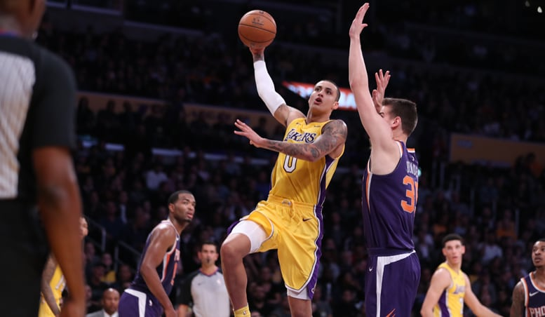 Kuzma Drops 30 But Lakers Can't Hold Back Suns