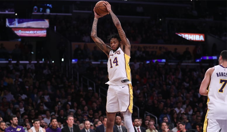 Red-Hot Rockets Run Past Lakers