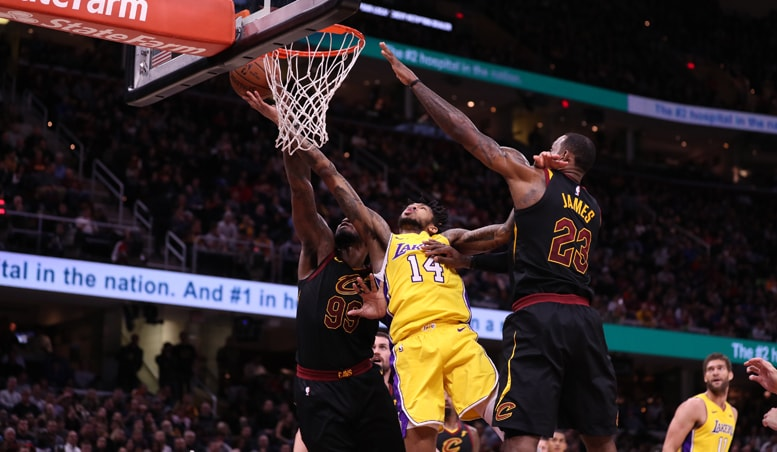 Lakers Gritty in Hard-Fought Loss to LeBron's Cavs