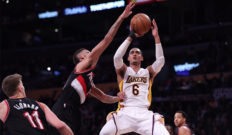 Lakers' Offense Quiet In Loss Against Blazers