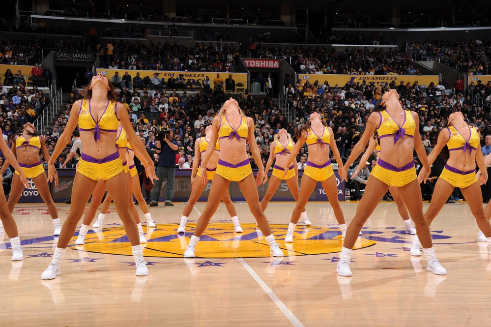 Laker Girls in-game gallery