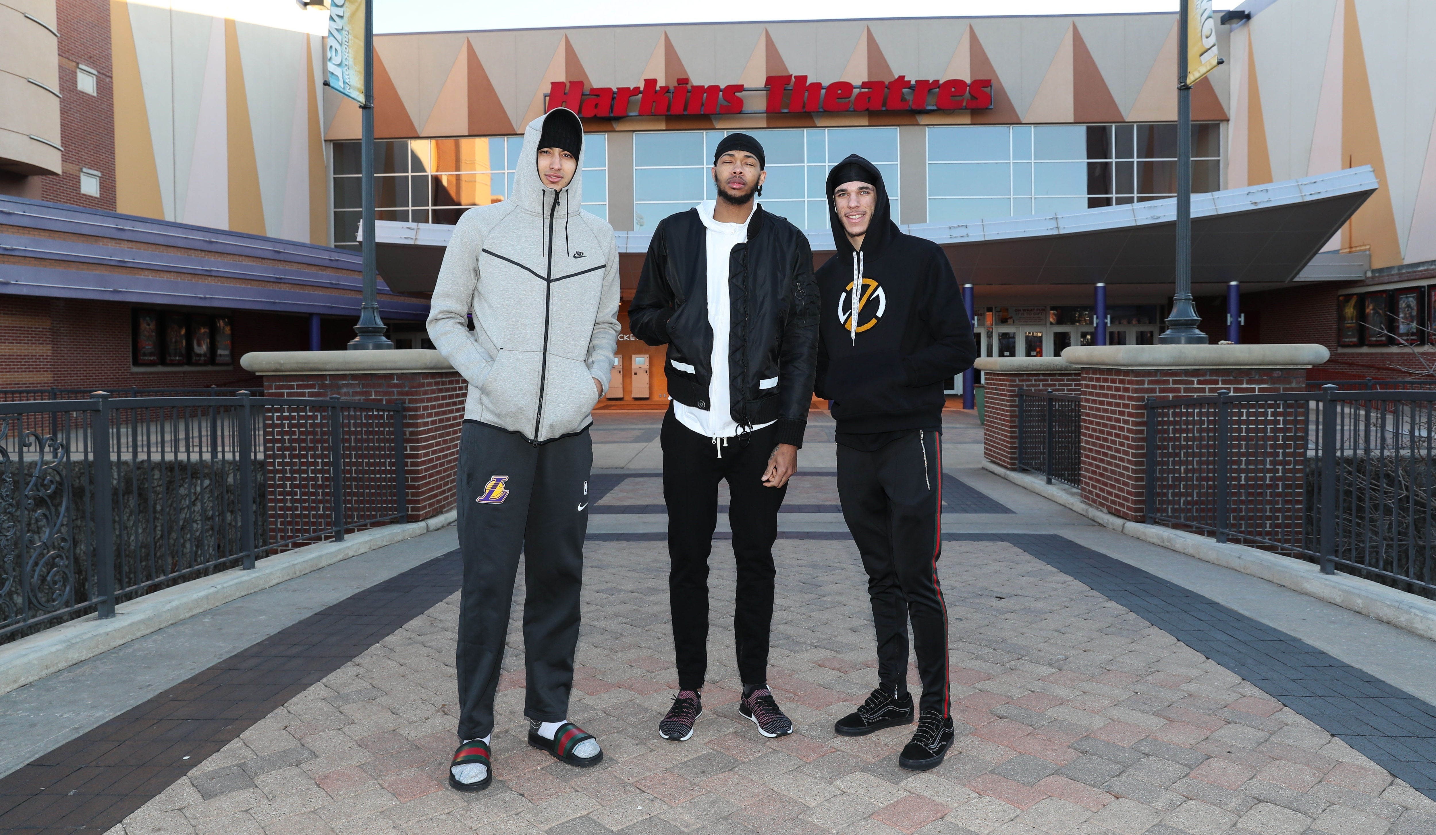 Kuzma, Ingram, and Lonzo