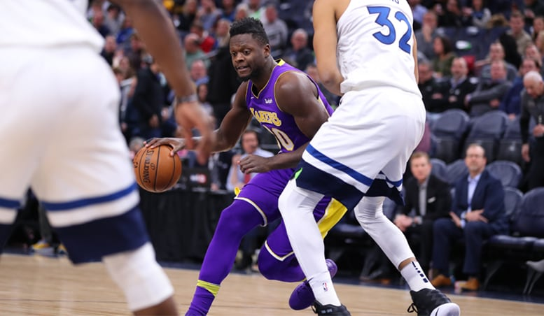 Lakers Unable to Hold Off Wolves