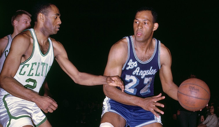 The Statue-Worthy Legacy of Elgin Baylor | Los Angeles Lakers